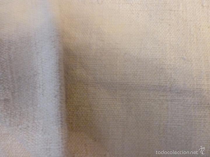 Antigüedades: sabana de lino grueso antigua - Foto 6 - 56956939