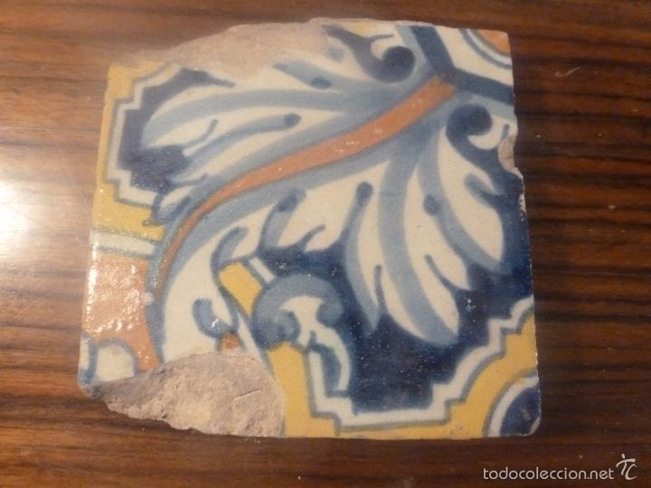 AZULEJO DE MANISES (Antigüedades - Porcelanas y Cerámicas - Manises)