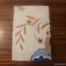 Antigüedades: AZULEJO DE MANISES. Lote 56957439