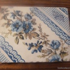 Antigüedades: AZULEJO DE MANISES. Lote 56957472