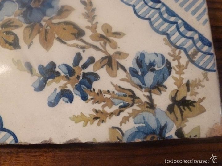Antigüedades: AZULEJO DE MANISES - Foto 5 - 56957472