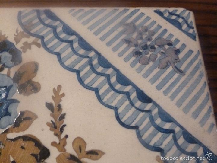 Antigüedades: AZULEJO DE MANISES - Foto 6 - 56957472