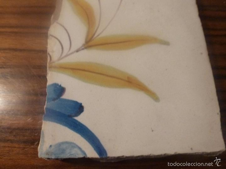 Antigüedades: AZULEJO DE MANISES - Foto 4 - 56957524