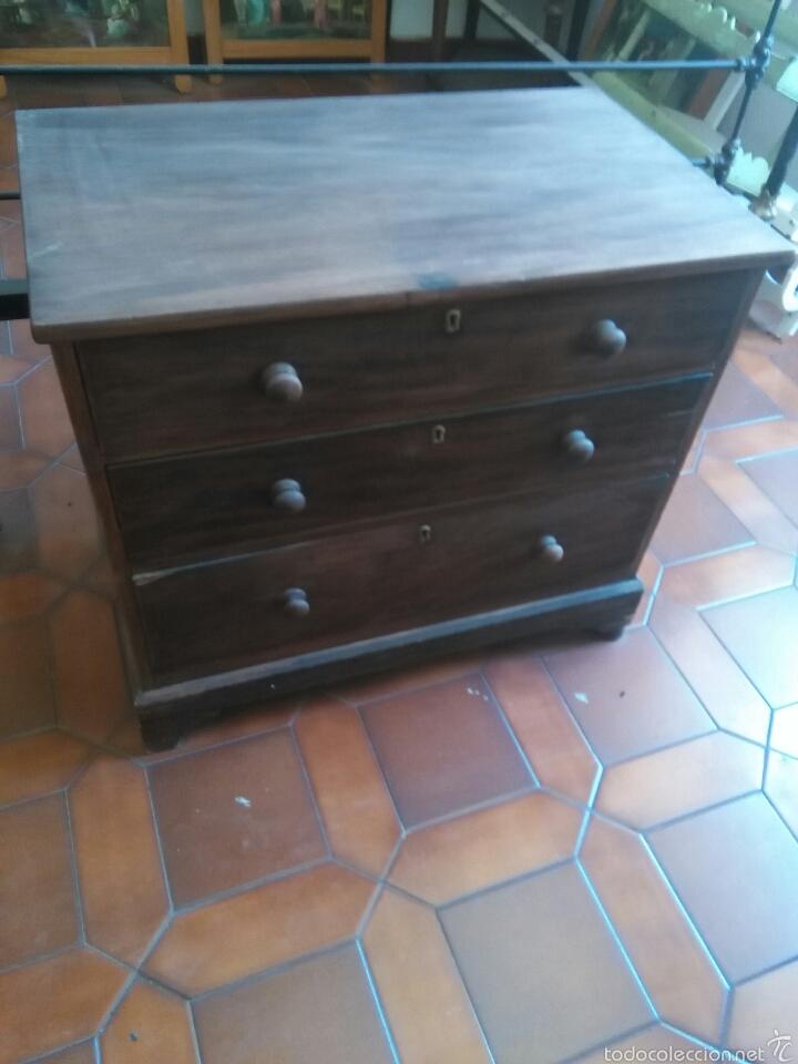COMODA PEQUEÑA (Antiques - Antique Furniture - Antique Chests of Drawers)