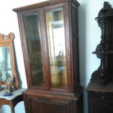 Antigüedades: MUEBLE VITRINA. Lote 56960132