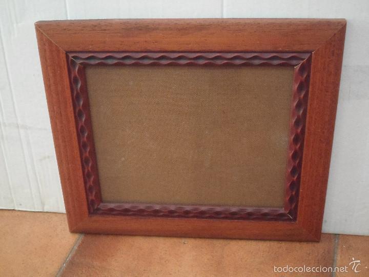 marco nogal de 25 x 20 cm - Comprar Marcos Antiguos de Cuadros en ...