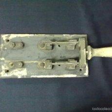 Antigüedades: LLAVE INTERRUPTOR. Lote 56961305