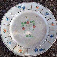Antigüedades: ANTIGUA BANDEJA, SELLADA SAN CLAUDIO. Lote 56988381