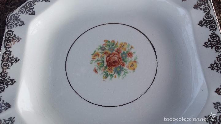 Antigüedades: antiguo plato sellado, san claudio - Foto 2 - 56988428