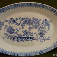 Antigüedades: BANDEJA PONTESA CHINA BLAU. Lote 102788706