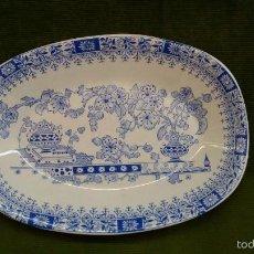 Antigüedades: BANDEJA PONTESA CHINA BLAU. Lote 56990850