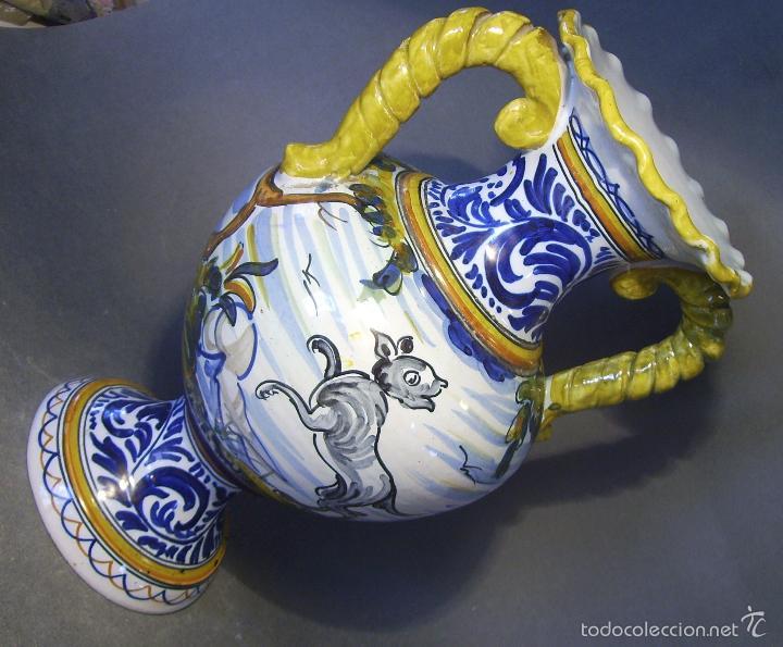 Antigüedades: GRAN JARRÓN CERÁMICA DE TALAVERA - Foto 5 - 57001512