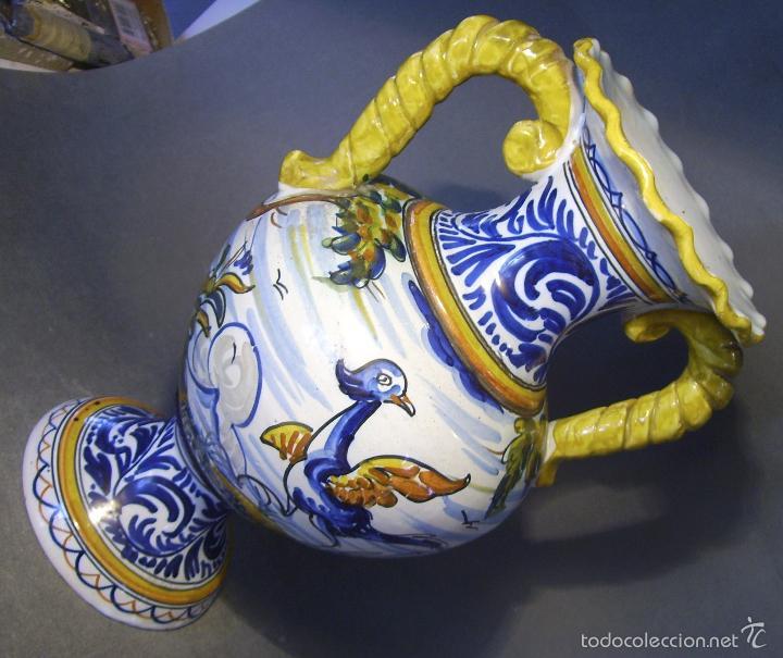 Antigüedades: GRAN JARRÓN CERÁMICA DE TALAVERA - Foto 6 - 57001512