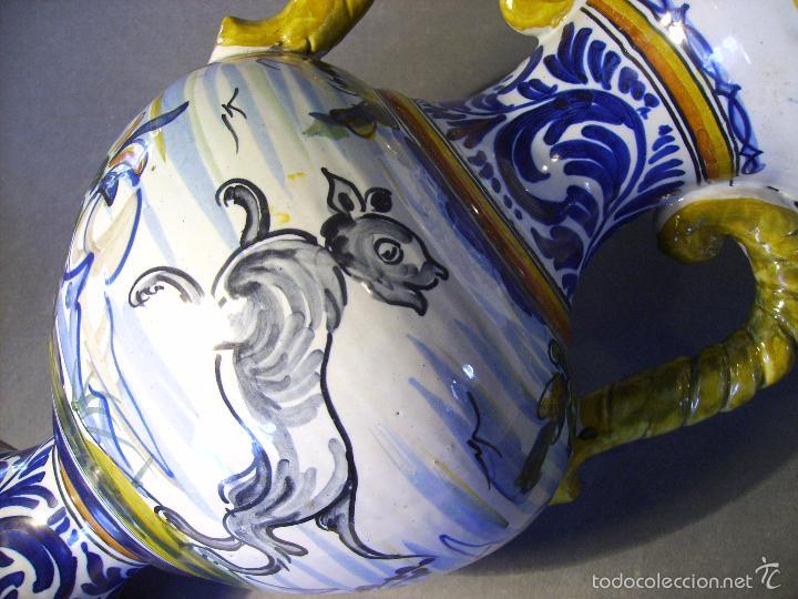Antigüedades: GRAN JARRÓN CERÁMICA DE TALAVERA - Foto 14 - 57001512