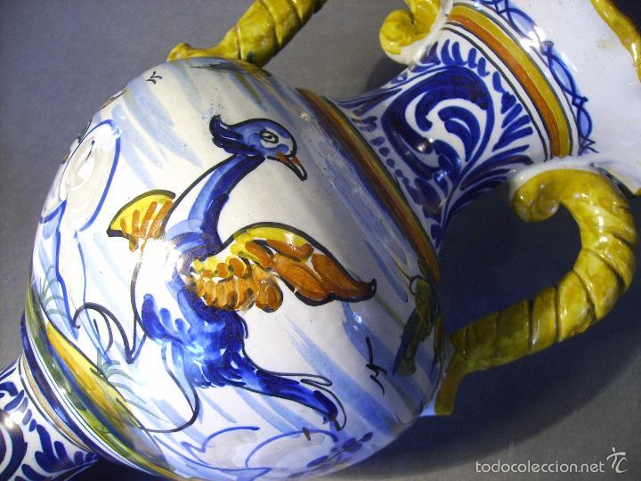 Antigüedades: GRAN JARRÓN CERÁMICA DE TALAVERA - Foto 15 - 57001512