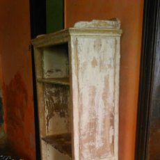 Antigüedades: ANTIGUA ESTANTERIA DE CASTAÑO. Lote 57016306