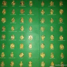Antigüedades: COLECCIÓN COMPLETA 95 MEDALLAS DE LAS HERMANDADES DE LA VIRGEN DEL ROCIO. Lote 57017911