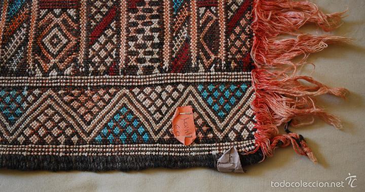 Antigüedades: Antiguo kilim de Marruecos (ver fotos adicionales) - Foto 3 - 57021970