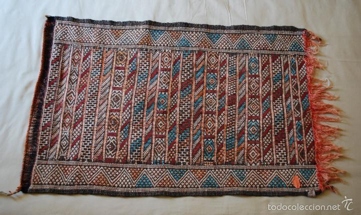 Antigüedades: Antiguo kilim de Marruecos (ver fotos adicionales) - Foto 5 - 57021970