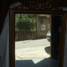 Antigüedades: ESPEJO ANTIGUO. PERTENECIA A UN TOCADOR.. Lote 57022416