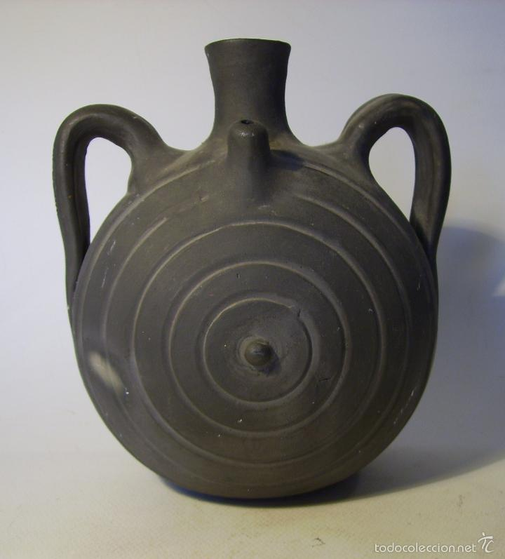 Antigüedades: BOTIJO TERRISSA CATALANA DE VERDÚ - Foto 2 - 57031880