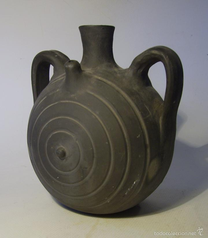 Antigüedades: BOTIJO TERRISSA CATALANA DE VERDÚ - Foto 5 - 57031880