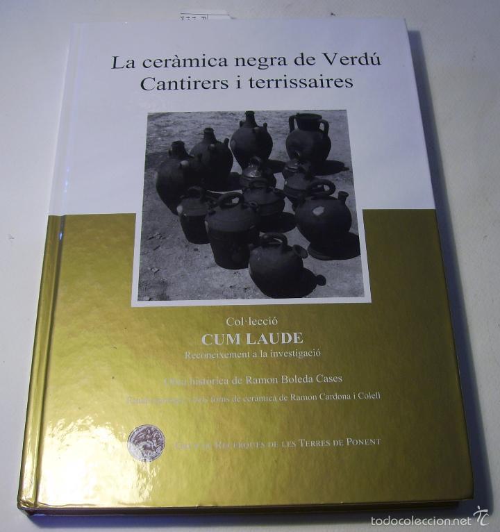 Antigüedades: BOTIJO TERRISSA CATALANA DE VERDÚ - Foto 10 - 57031880