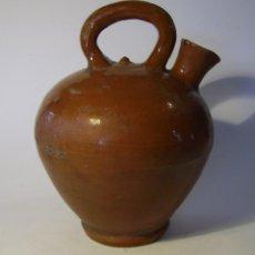 Antigüedades: BOTIJO ACEITE DE TERRISSA CATALANA XIX . Lote 57031937