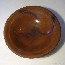 Antigüedades: PLATO DE TERRISSA CATALANA XIX . Lote 57032043