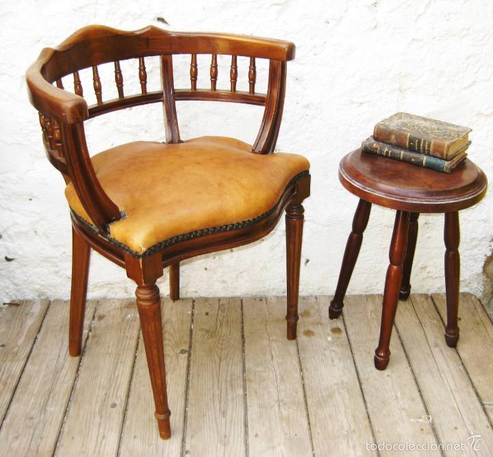 Comprar silla escritorio silla para despacho clsica de - Sillas antiguas baratas ...
