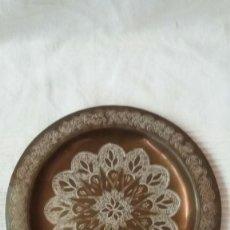 Antigüedades: PLATO ARABE DE METAL. Lote 57034014