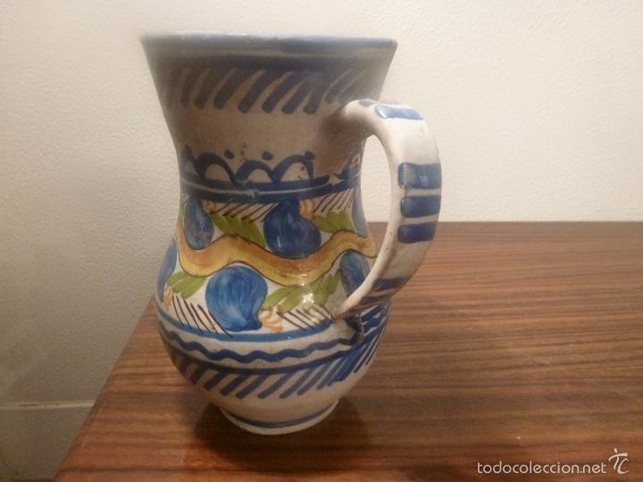 Antigüedades: jarra de manises - Foto 2 - 57034069