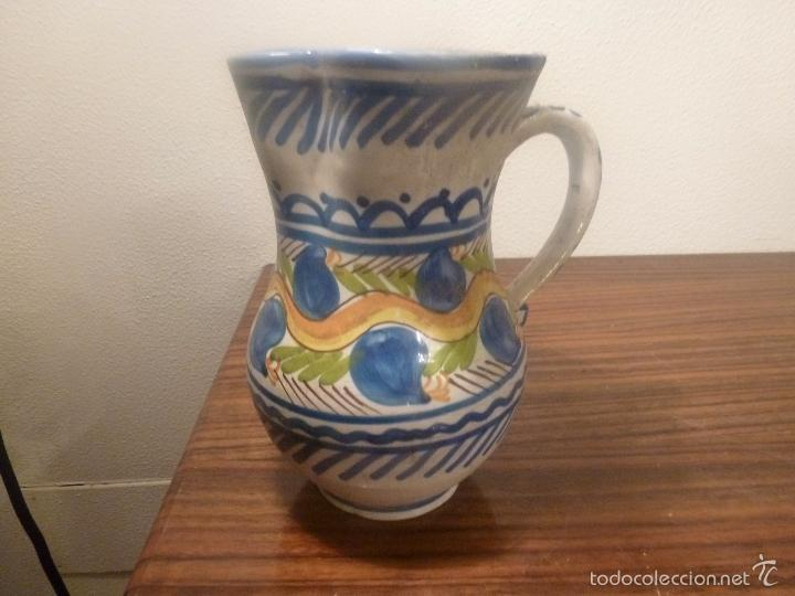 Antigüedades: jarra de manises - Foto 3 - 57034069