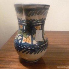 Antigüedades: JARRA DE CERAMICA DE MANISES. Lote 57034104