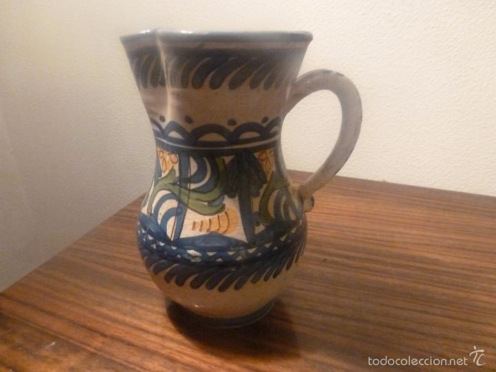 Antigüedades: jarra de ceramica de manises - Foto 3 - 57034119