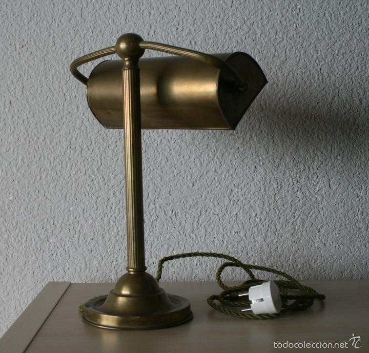 desp lampara en Vendido inglesa Antigua flexo de sobremesa R5c34AjLq