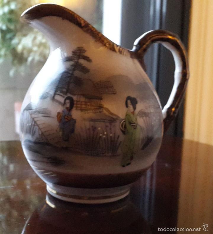 Antigüedades: Juego de café. Antigua porcelana fina JAPONESA SIGLO XIX - Foto 13 - 57045841