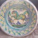 Antigüedades: ANTIGUO LEBRILLO DE TRIANA PINTADO A MANO. Lote 57047283