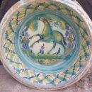 Antigüedades: ANTIGUO LEBRILLO DE TRIANA PINTADO A MANO. Lote 57047326