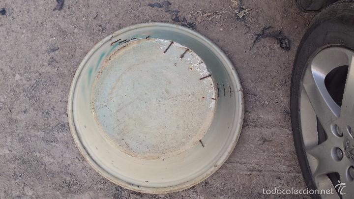Antigüedades: antiguo lebrillo de triana pintado a mano - Foto 5 - 57047326
