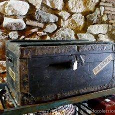 Antigüedades: BAÚL ANTIGUO. Lote 57049862