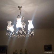 Antigüedades: LAMPARA TECHO. Lote 57051314