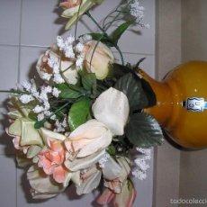 Antigüedades: FLORERO DE OPALINA ANTIGUO. Lote 57051423