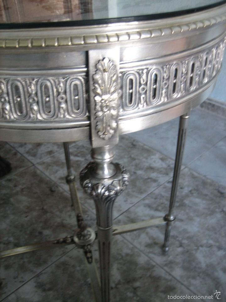 Antigüedades: MESA DE SALA ESTILO LUIS XVI - Foto 2 - 57081582