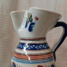 Antigüedades: JARRA CON DISEÑO / 27 X 14 CMS. Lote 57086631