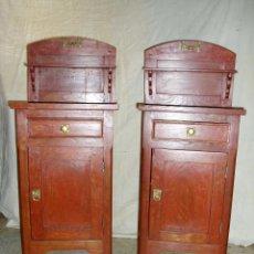 Antigüedades: MESILLAS DE NOCHE. Lote 57100898