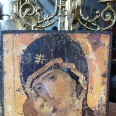 Antigüedades: TABLA VIRGEN MUY ANTIGUA. Lote 57101247