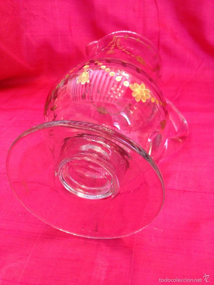 Antigüedades: Jarra de cristal de la granja - Foto 3 - 57101973