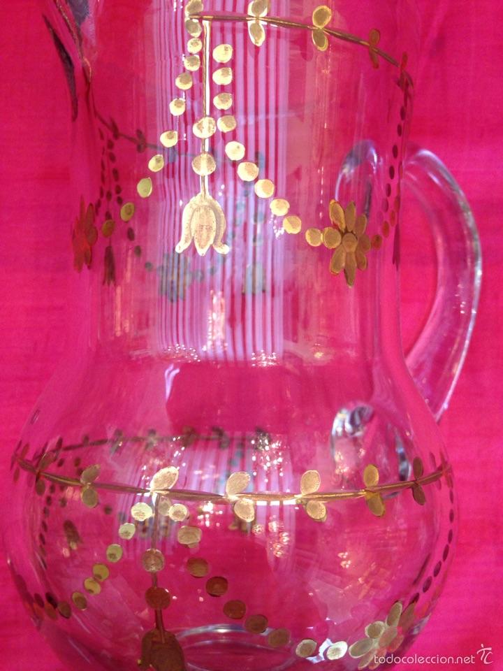 Antigüedades: Jarra de cristal de la granja - Foto 4 - 57101973