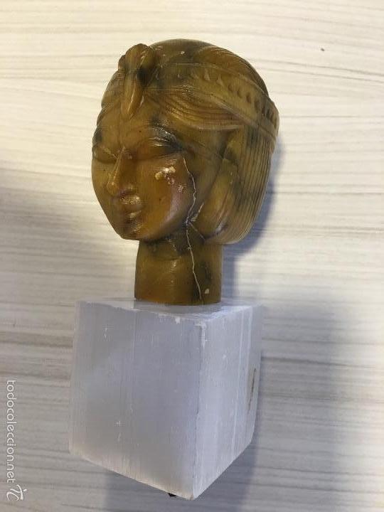 BUSTO DE DAMA (Antigüedades - Hogar y Decoración - Figuras Antiguas)